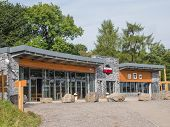 Exterior Of Mountain Bike Park Wales