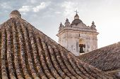 Bell Tower And Tile Roofs