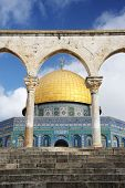Dome of the Rock in Jerusalem - Israel