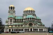 Alexander Nevsky Memorial Cathedral in Sofia, Bulgaria with capacity more than 5000 people