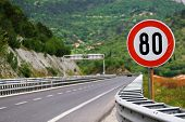 Speed limit - 80