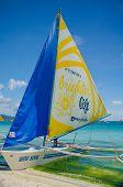 Paraw Sailing Boracay, Philippines