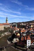 View Of Cesky Krumlov Town