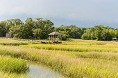 Gazebo in the Marsh