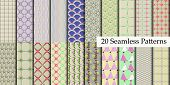 20 Model Seamless Patterns