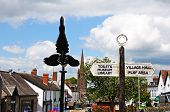 Village centre, Weobley.