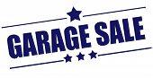 Garage Sale Stamp