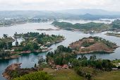 Guatape lake, Colombia