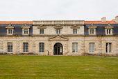 Facade Of Corderie Royale In Rochefort