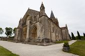 Full Side  View Of Aulnay De Saintonge Church