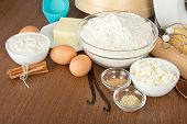 Set of products for dough