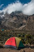 Camping At Barranco, Kilimanjaro