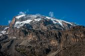 Kilimanjaro From Barranco Campsite