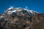 Kilimanjaro From Barranco Campsite