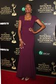 LOS ANGELES - JUN 22:  Aisha Tyler at the 2014 Daytime Emmy Awards Arrivals at the Beverly Hilton Ho