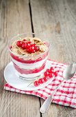 Wholegrain Muesli With Berry Sauce And Yogurt