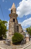 Kos island in Greece. Esci minaret