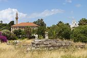 Kos island in Greece. Lotzia mosque