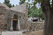Kos island in Greece. Old Pyli village