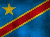 National flag of the Democratic Republic of the Congo, Textured version