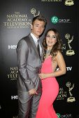 BEVERLY HILLS - JUN 22: Chad Duell, Kristen Alderson at The 41st Annual Daytime Emmy Awards Press Ro