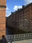 Hamburg warehouse district (Speicherstadt)