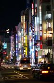 Tokyo, Japan - November 23, 2013: Neon Lights In Shinjuku District