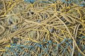 Fishing Net Rope Background