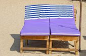 Relaxing Sofas  Seats On  Beach Sand, Goa