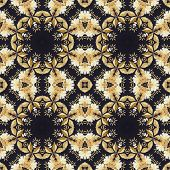 pic of marquetry  - Abstract seamless artistic pattern - JPG