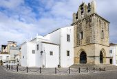 stock photo of faro  - Portugal Algarve Faro old town Se Cathedral square - JPG