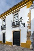 picture of faro  - Part of the Old Town in historic Faro Portugal - JPG