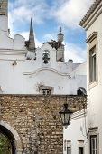 picture of faro  - Church bells in Old Town historic district of Faro Portugal - JPG