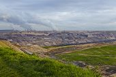 Brown Coal - Opencast Mining Garzweiler (germany)