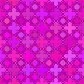 Abstract vector background Seamless geometric kazakh ornament, Modern style