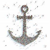 Symbol of a Anchor.