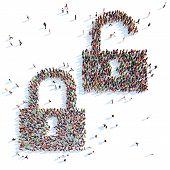 Symbol of locks.