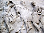 Section of a frieze of the Elgin Marbles