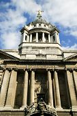 stock photo of bailey  - The Central Criminal Court fondly known as The Old Bailey - JPG