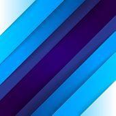 Abstract blue triangle shapes background