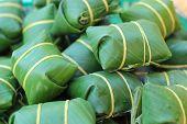 Thai Dessert Made From Rice