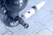 Monochrome Photos Of Electrocardiogram