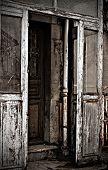Door Of The Old House.
