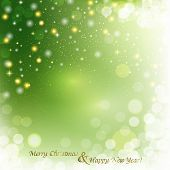 Vector Christmas Abstract Background