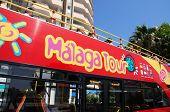 Malaga tour bus.