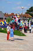 Balloon seller, Stratford-upon-Avon.