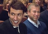 MOSCOW - NOVEMBER, 26: Chelsea football club owner  Roman Abramovich. Festival of  Contemporary choreography