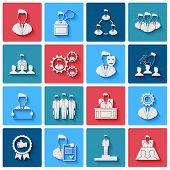 Executive Icons White