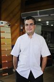 Small Business: Portrait Of A Retail Floor Store Owner