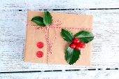 image of aquifolium  - Beautiful Cristmas gift with European Holly  - JPG